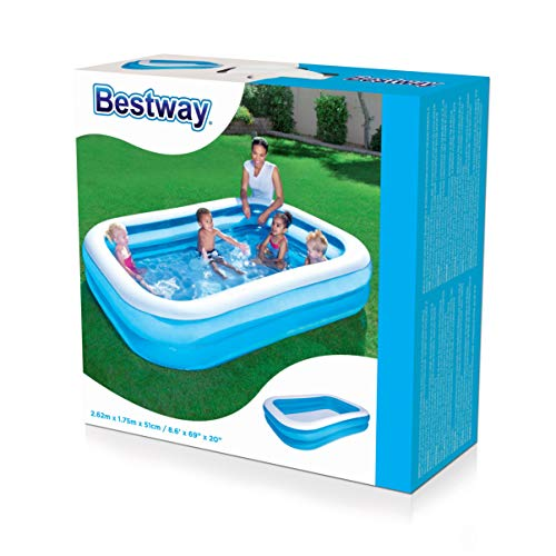 Bestway Family Pool Blue Rectangular - 3