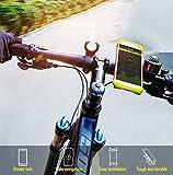 RUIX Fahrrad-Lenker Handyhalter Fahrradreitausrüstung Elektrisches Motorrad Silikon Navigation Halterung Zubehör,D