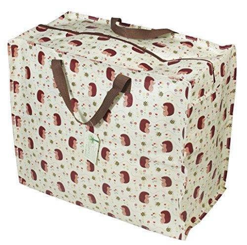 Tasche Jumbo Shopper Igel Biene aus recycelten Material 58x47cm (Tasche 47)
