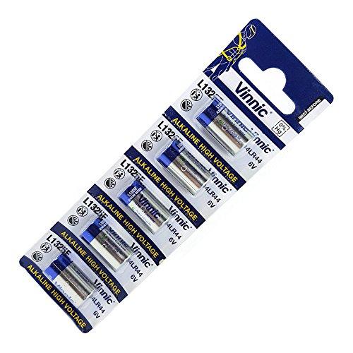 Vinnic L1325 4LR44 RFA-18-11 476A V4034PX A544 PX28 Pile Alcaline de 6V (Blister de 5 Piles)