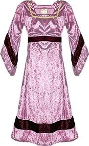 Fantashion M 98-Burg Fräulein, Vestido de Princesas Disney