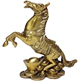 Messing Reichhaltige Pferd Statuen handgefertigt GOLDEN Reichtum Pferd Figur Home Decor Geschenk bs031