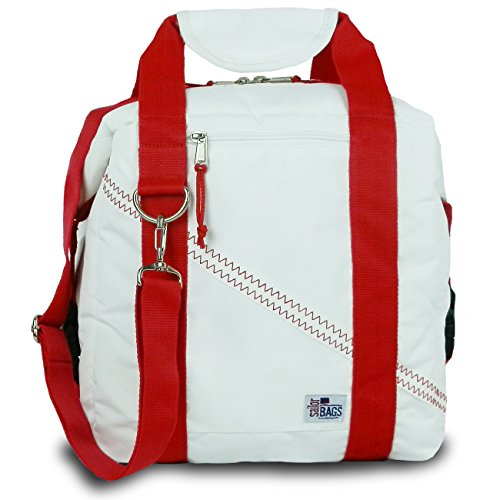 sailor-bags-soft-cooler-bag-holds-12-cans-white-red-straps-by-sailorbags