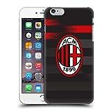 Head Case Designs Ufficiale AC Milan Terza Maglia 2018/19 Kit Cresta Cover Retro Rigida per iPhone 6 Plus/iPhone 6s Plus