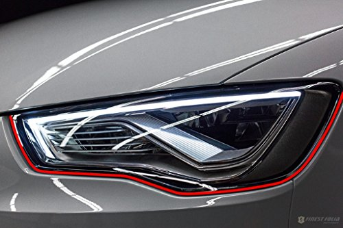 Devil Eye® Scheinwerfer Folie von Finest-Folia Stripe für Audi A3 A4 A5 A6 A7 S Line C6 C7