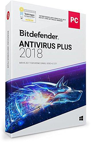 Bitdefender Antivirus Plus 2018 – 3 PC | 1 Jahr / 365 Tage (Windows) - Aktivierungscode