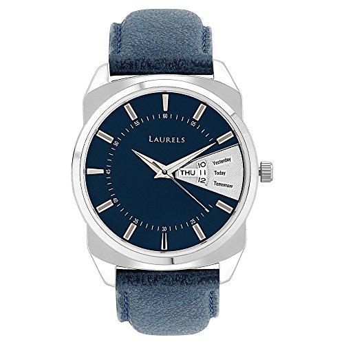 Laurels Analog Blue Dial Men\'s Watch -Lo-Inc-203