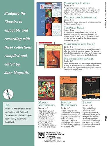 Masterwork Classics: Level 4, Book & CD (Alfred Masterwork Editions)
