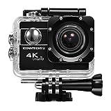 ICONNTECHS IT 4K Ultra HD Wasserfeste Sport-Actionkamera, 170° Weitwinkellinse, Full HD 1080P WiFi...