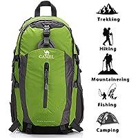 Camel Mochila Ligero de Senderismo, para Trekking, Camping, Acampada,Deportes al Aire Libre, Material Impermeable y Resistente,40L,para Hombre,Mujer,Niña