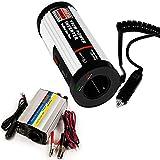Spannungswandler Wechselrichter Stromwandler Inverter KFZ Auto 150/300W 12V-230V USB 5V - Modellwahl