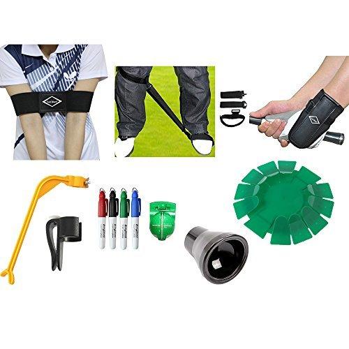 Scott Edward Golf Kit d'entraînement de golf Practise kit Swing de golf d'entraînement de golf...