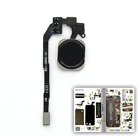 Nappe Bouton Home pour iPhone 5S avec patron papier d'aide au montage offert