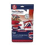 Packmate ® - Lot de 2 housses de rangement sous vide pour vêtements, grande couette, draps, etc. - compression avec aspirateur - très XL/70 x 105 cm