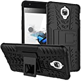 OnePlus 3T : CASSIEY (TM) Tough Military Grade Armor Defender Series Dual Protection Layer Hybrid TPU + PC Kickstand Case Cover for OnePlus 3 , OnePlus 3T , One Plus Three - Blue