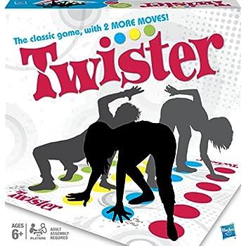 Hasbro–Twister [Parent] Jeu de société version anglais One Size One Colour