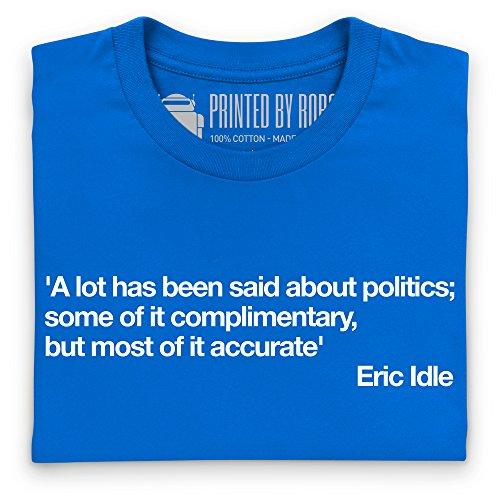 A Lot Said About Politics T-Shirt, Damen Royalblau