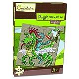 Avenue Mandarine 25-Piece Puzzle Knights Gargouille
