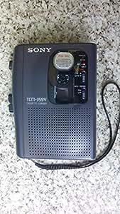 Sony tCM - 359 v corder dictaphone dictation en forme de cassette audio walkman