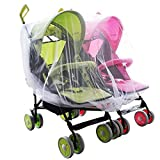 Aligle Twin stroller nets Baby Mosquito ...