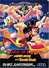 Mega Drive - World of Illusion: starring Mickey Mouse Donald Duck - (OVP Anl.), gebraucht - sehr gut