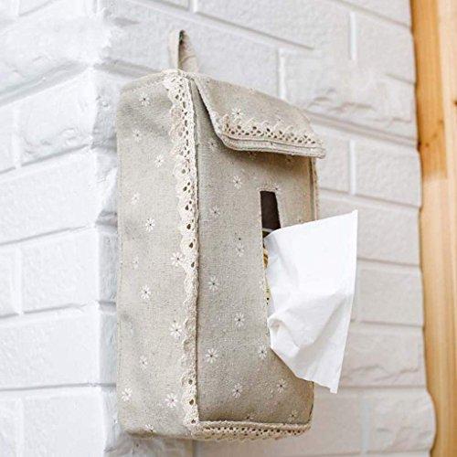 Jiaa Wohnkultur Produkte mit Modernen und Stilvollen Aussehen Design Stoff Hängende Art Papier Keine Bohren Universal Verwendung Zeichnung Karton Zimmer Bad WC Handtuch Tasche beheizte Handtuch,F