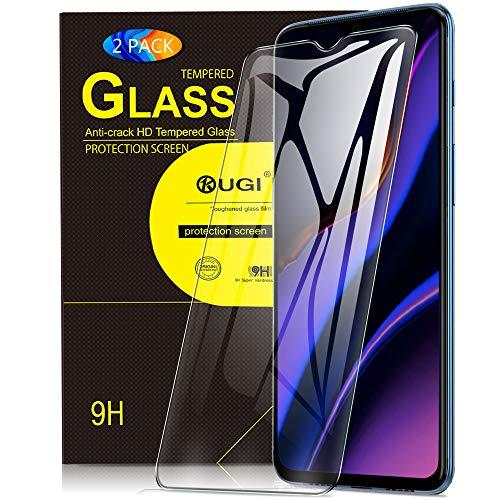 KuGi. für Oneplus 7 Panzerglas, Oneplus 7 Schutzfolie 9H Hartglas HD Glas Blasenfrei Displayschutzfolie passt für Oneplus 7 Smartphone. Klar [2 Pack] Klar 7