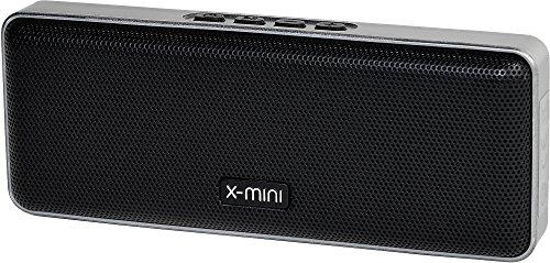 X-Mini XOUNDBAR - Enceinte Bluetooth portable - 3 x2 W sans fil Haute qualité Compatible Android, iPhone, Tablettes, Smartphone, PC, MP3
