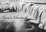 Island in Schwarzweiß (Wandkalender 2020 DIN A4 quer): Island in Schwarzweiß (Monatskalender, 14 Seiten ) (CALVENDO Orte)