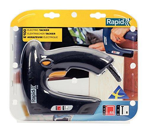 Rapid, 5000578, Agrafeuse électrique, Grande capacité, Pour le bricolage et la décoration, E100