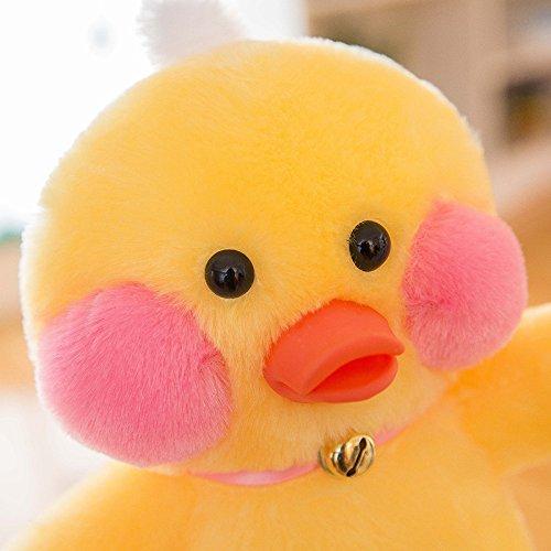 YT Ente Puppe Puppe Maschine Puppe Net Rot Gelbe Ente Plüschtier Kreative Aktivität Geschenk,Gelb,28cm (Ente Plüschtiere)