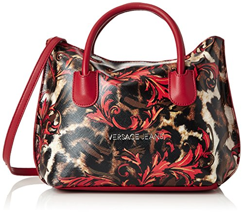 Versace Jeans Fall/Winter 2016 Borsa Messenger, 26 cm, Rosso-E500