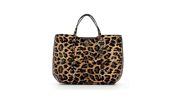 Borsa a mano Leanne Leopard