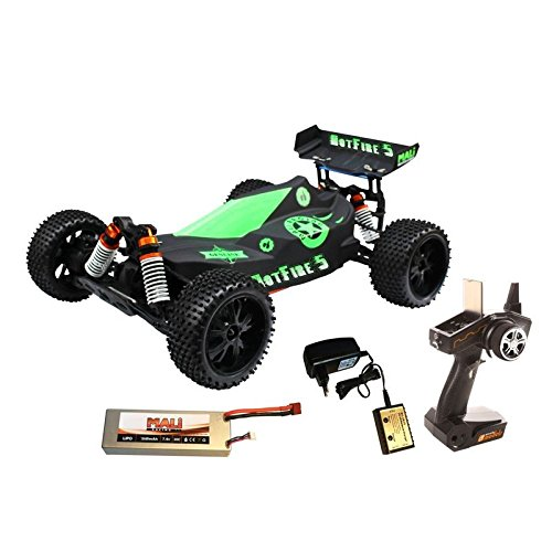 RC Auto kaufen Buggy Bild: DF Models 3009 - Hotfire 5 Buggy - 1:10 Brushless Metallgetriebe RTR-Waterproof*