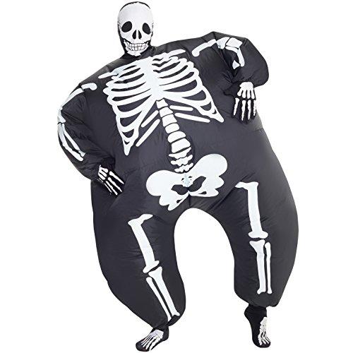 Erwachsene Megamorph Morphsuit Blow Up Aufblasbarer Fat Suit Kostüm–erhältlich in verschiedenen (Halloween Fat Suit)