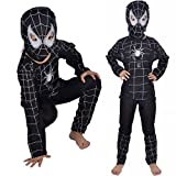 Kuhu Creations® Spiderman Black Kids ...