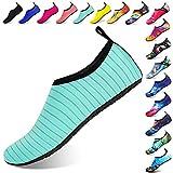 Funnie Hommes Femmes Enfants Barefoot Chaussures d'eau Séchage Rapide Slip-on Sports Aqua Chaussures de Yoga Poids Léger à...
