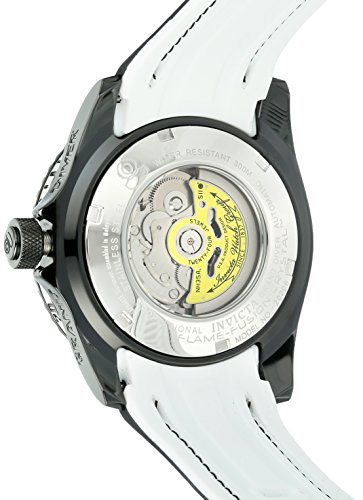 Invicta Men's 'Pro Diver' Automatic Stainless Steel and Silicone Casual Watch, Color Black (Model: 20206)