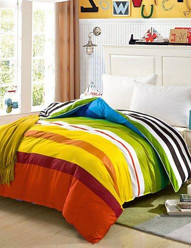 Baumwolle Königin Futon Cover (ZHUAN GAOHAIFQ®, vierteilige Anzug, 100% Baumwolle Königin Bettbezug Comfortble für Einzel- oder Doppelbettgröße, King)
