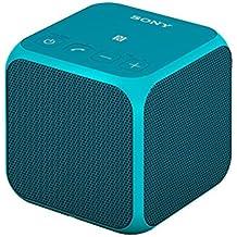 Sony SRS-X11 Speaker Wireless Portatile, Potenza 10W, Bluetooth, NFC, Blu