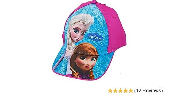 #TAG Frozen Girls Anna /& ELSA Summer Baseball Cap 52cm