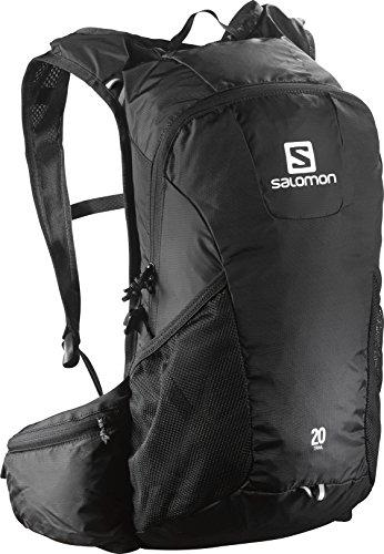 Salomon Mochila para Running/Senderismo 20L, Trail 20, Negro, l37998600