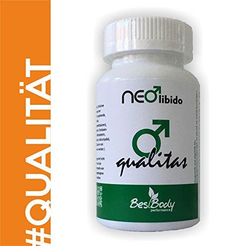 Preisvergleich Produktbild Neolibido - NeoQualitas- Potenzmittel zur Verbesserung der Spermaquallität - DEUTSCHE QUALITÄT - Rezeptfrei - (Vitamin A,  Vitamin C,  Vitamin D,  Vitamin E,  Vitamin B1,  B2,  B6,  B12)