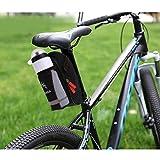 Newshot sella della bicicletta bottiglia di acqua con tasca posteriore per bicicletta MTB sella borse ciclismo sedile posteriore borsa da sella bici accessori