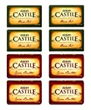 DALAN Castile beauty soap Olive Oil (Pack Of 4 X 100 Gms) & Cocoa Butter (Pack Of 4 X 100 Gms) - Total 8 pcs Amazon
