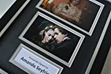 Sportagraphs Amanda Seyfried SIGNED A4 FRAMED Photo Autograph Display Les Miserables & COA PERFECT GIFT