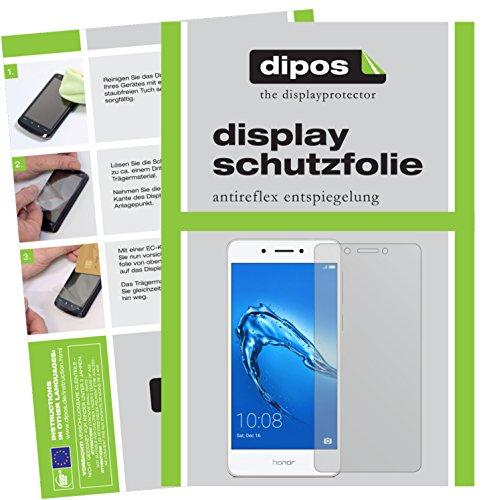 dipos I 2X Schutzfolie matt passend für Huawei Honor 6C Folie Displayschutzfolie