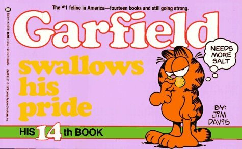 Garfield Swallows His Pride (Garfield (Numbered Paperback)) by Jim Davis (1-Oct-1987) Paperback