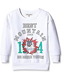 Best Mountain Girl Imprime, Sweat-Shirt Fille