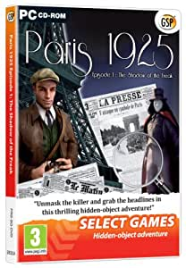 Select Games: Paris 1925 - Episode 1 The Shadow of the Freak (PC DVD)